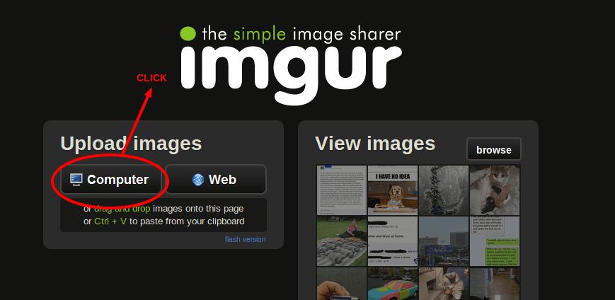 imgur - best free image hosting websites